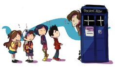 What is all this? Okay, I see Gravity Falls, Doctor Who, Coraline, and Paranorman. Kind of a lot...