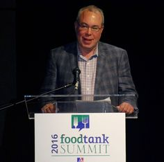 """""""Make the right choices for what we put on our plate."""" Keynote Arlin Wasserman, Founder and Partner, Changing Tastes, Business Leadership Council - Culinary Institute of America   #foodtank"""