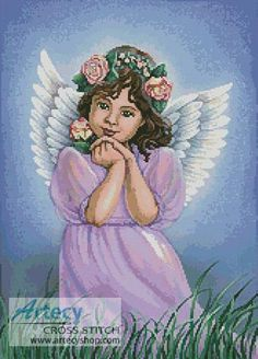 Angel of the Earth Counted Cross Stitch Pattern   http://www.artecyshop.com/index.php?main_page=product_info&cPath=74_76&products_id=952