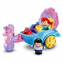 Little People® Disney Ariel's Coach
