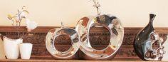 Dekoratives nicht nur für den Tisch. Die Vasen passen auch wunderbar auf ein schönes Board. Schöne Dekoration