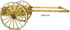 Mormon Hand Cart used by westward pioneers