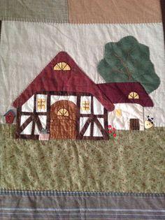 Casa aplicada en quilt, URIDAY tus hobbies.
