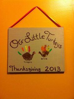 Thanksgiving handprints :)