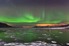 Ice and Auroras