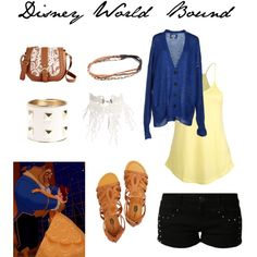 DWB - A comfortable Disney World outfit inspired by the Beast! :)
