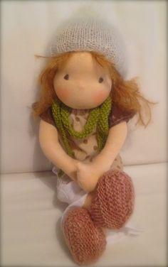 Honey organic waldorf doll by eszterlanc8 on Etsy, $200.00