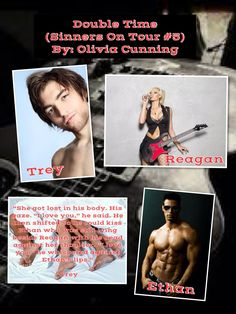Double Time (Sinners On Tour #5) by Olivia Cunning