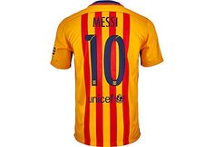 Nike Lionel Messi Barcelona Away Jersey 2015-16