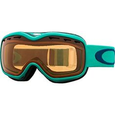 dc4007833b6c43 Oakley Stockholm Women s Ski Snowmobile Goggles Eyewear – Mint Leaf  Persimmon   One Size Fits All