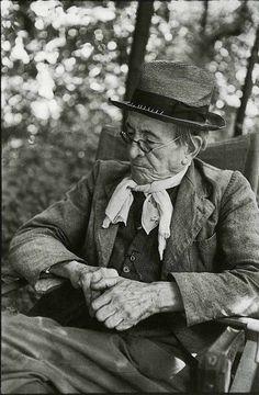 Henri Cartier-Bresson, Paul Léautaud, 1952