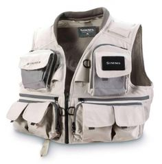 Guide Vest #fishing store all your important lines, clippers and fly boxes