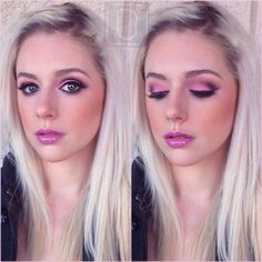 Blush Pink beauty makeup for a catalogue style shoot. Makeup Artist Brittany Martin @makeupbybrittanym