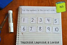 Teaching, Learning, & Loving: September Math Journal Prompts MATHEMATIC HISTORY Mathematics is one of the oldest sciences in human history. Preschool Writing, Preschool Learning Activities, Teaching Math, Math Math, Math Fractions, Math Games, Preschool Ideas, Maths, Interactive Math Journals