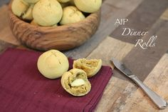 AIP Dinner Rolls made with Otto's Naturals Cassava Flour | The Paleo Mom