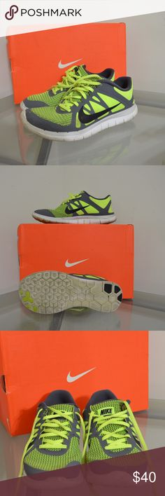Men Nike Free Run 4.0 I will scrub clean the bottoms when bought :) still in great condition! Nike Shoes Athletic Shoes