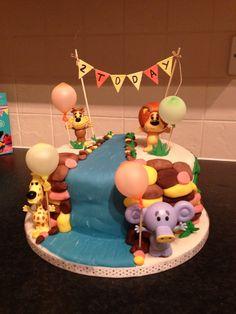 Raa Raa birthday cake