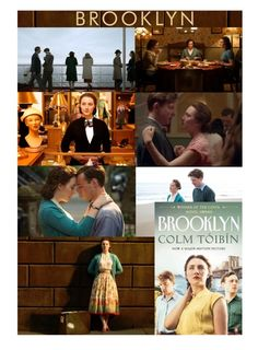 """Brooklyn by Colm Toibin"" by hangar-knjiga ❤ liked on Polyvore featuring art, reading, SaoirseRonan, books, brooklyn and bookworm"