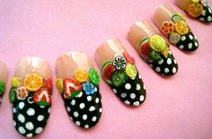fruit nails - Google Search