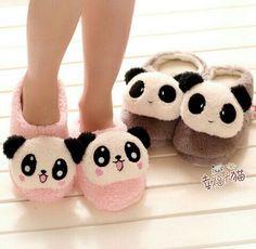 cute panda rabbit household plush floor slipper couples warm slippers for lovers 1 pair Kawaii Shoes, Kawaii Clothes, Kawaii Fashion, Cute Fashion, Panda Mignon, Panda Outfit, Pyjamas, Cute Slippers, Pink Slippers