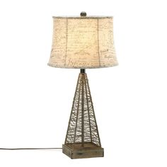 Metal Hatch Table Lamp – MNM Gifts