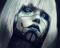 Cyberpunk cyborg #cyberpunk #cyborg #character