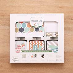 Explore Edition Core Kit - Project Life Scrapbook Card Kit – Becky Higgins