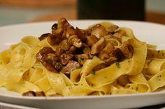 Porcini mushroom & parpadelle pasta (Bella in NYC or Da Emma in Old MTL)