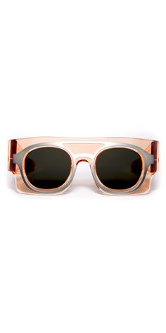Peter & May Walk x Wanda Nylon Keanu Sunglasses, Demoiselle Champagne - The Style Chamber