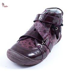 GBB Bottines Fille bordeaux LUCRECIA - Chaussures gbb (*Partner-Link)