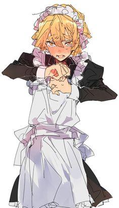 Maid Outfit Anime, Anime Maid, Anime Girlxgirl, Anime Demon, Anime Guys, Slayer Meme, Demon Slayer, Hee Man, Neko