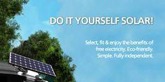 Do It Yourself solar PV now at Trueshopping. Garden Power Tools, Solar Lights, Diy Tools, Garden Furniture, Store, Outdoor, Outdoor Garden Furniture, Outdoors, Solar Lanterns
