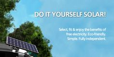 Do It Yourself solar PV now at Trueshopping.