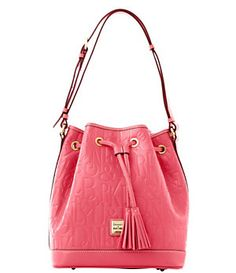 Dooney & Bourke DB Embossed Drawstring Tote | Dillard's Mobile