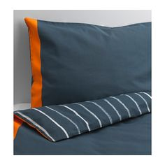 IKEA - BENRANGEL, Duvet cover and pillowcase(s), , Cotton is soft and feels nice against your child's skin.
