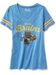 f118ce88 Old Navy Womens College Team Graphic V Neck Tee ($23) ❤ liked on Polyvore