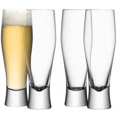 LSA Set of 4 Bar Lager Glasses
