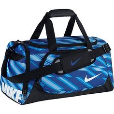 ce336474460 Rebel Sport - Nike Junior Ya Tt Duffel Blue Small