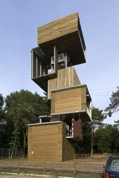 Viewing Tower Reusel in the Netherlands
