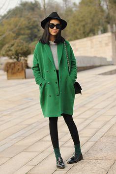 Great statement coat. Shop The Coat Room at MATCHESFASHION.COM #MATCHESFASHION