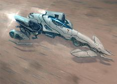 Hover Racer This little amazing concept ship is from Alex Iglesias... AKA Flyingdebris.