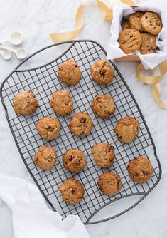 Spiced chocolate and cranberry cookies By Nadia Lim