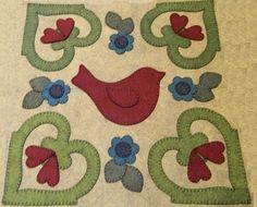 Outside Baltimore Wool Applique Pattern #5
