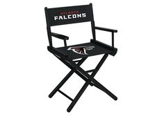 Atlanta Falcons NFL Table Height Director's Chair