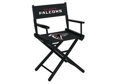 Atlanta Falcons NFL Table Height Director's Chair