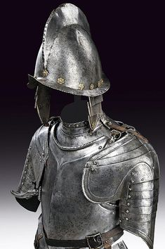 A cavalry light half armour, dating: last quarter of the 16th Century  provenance: Europe