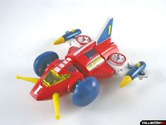 shogun warrior battle jet | The sides are essentially the same, except that the red and yellow ...