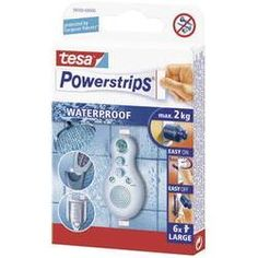 tesa Powerstrips waterproof Wit 59700 TESA