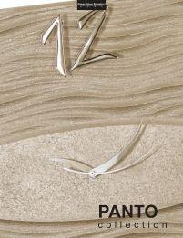 Collezione Panto. Orologi d'arredo realizzati artigianalmente.