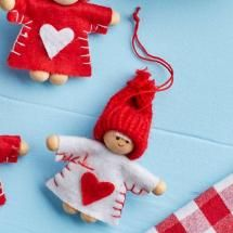 Nordic White Mini People Decoration